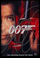 James Bond: Tomorrow Never Dies Pierce Brosnan Advance Movie Poster 1997
