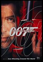James Bond: Tomorrow Never Dies Pierce Brosnan Advance Movie Poster 1997