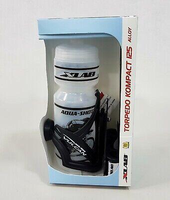 XLab Torpedo Kompact 125 Aero bar Mount+Cage+Bottle #2644 Black
