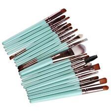 20 Pcs Eyeshadow Makup Brushes Tool Eye Eyeliner Lip Foundation Powder Brush Set