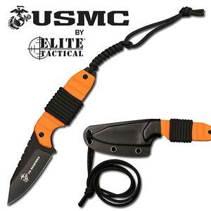 KNIFE-COLTELLO-DA-CACCIA-ELITE-TACTICAL-USMC-2O-SURVIVOR-SOPRAVVIVENZA-SURVIVAL