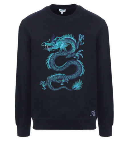 Kenzo Limited Edition Dragon /'Holiday Capsule/' Black Sweatshirt