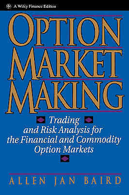 Option market making trading and risk analysis pdf