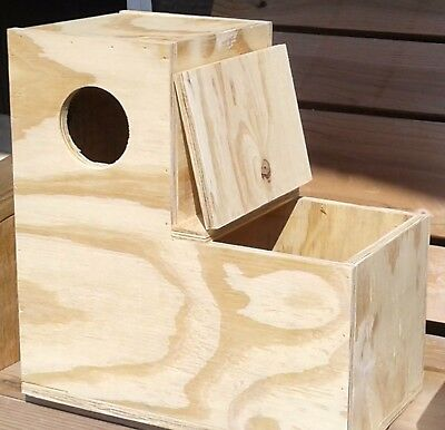 "Parakeet Boot Nest Box Parrot Conure To Have A Unique National Style 14""x14""x7"" 7""toe"