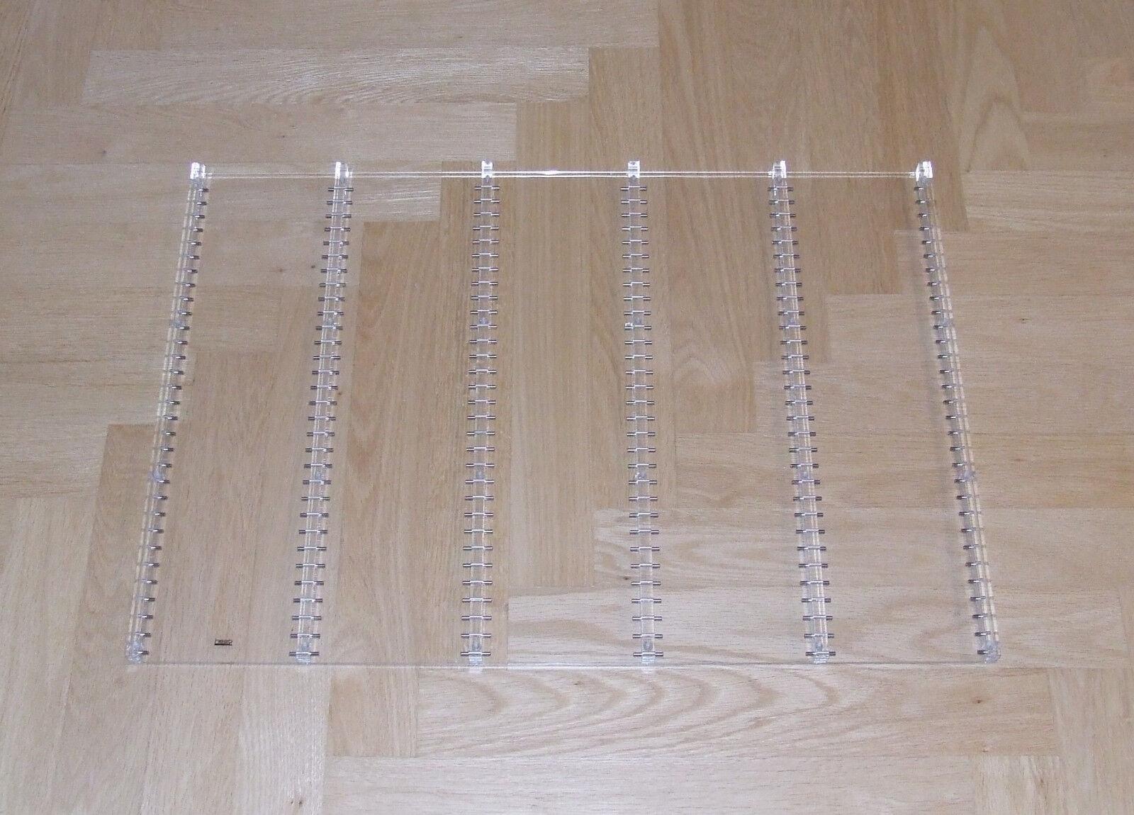 Heso Acryl CD Einsatz für USM Ausziehtablar in 750 x 500 mm