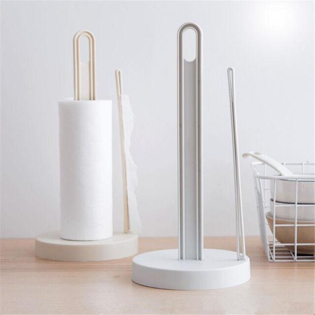 1pc Plastic Paper Towel Roll Holder Towel Rack Dispenser Kitchen ...