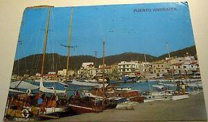 Spain-Puerto-Andraitx-Mallorca-1702-posted-1977