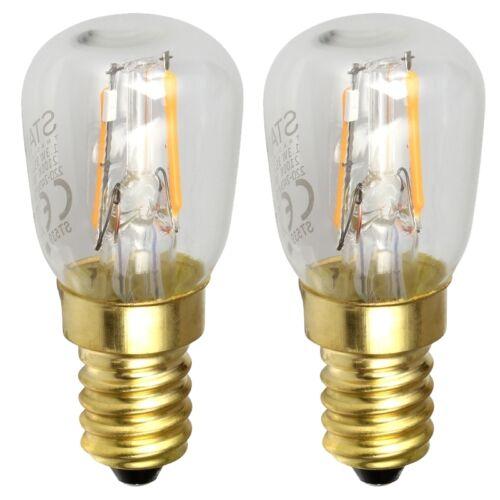 E 14 f Deko-Lampe Weihnachtsstern 2x mini Led Leuchtmittel E14 90lm 270° 1,3W A