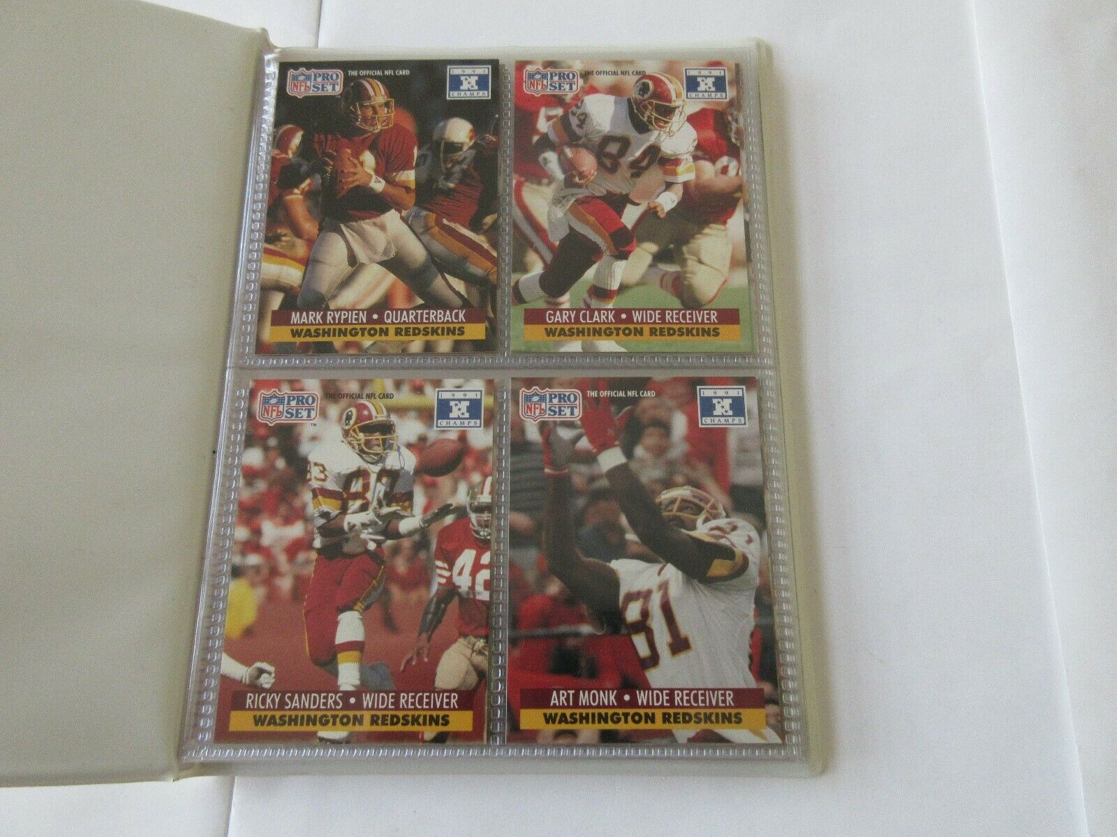 Super Bowl XXVI , Redskins vs Bills , June 26 , 1992 ,