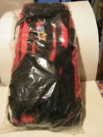 Marlboro Gear Internal Frame Red And Black Backpack With Tags