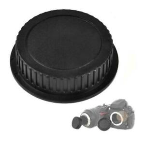 Black-Body-Cap-Lens-Rear-Cap-For-All-Nikon-Camera-SLR-mu-DSLR-F8B1
