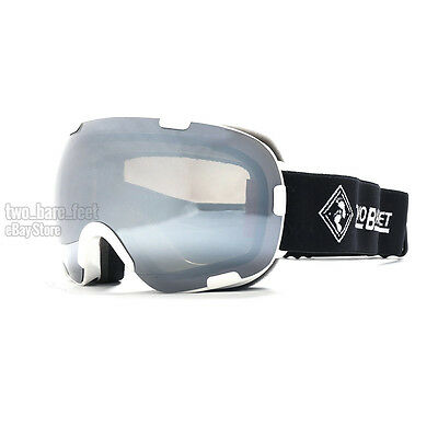 d453730a4482 Two Bare Feet METHOD Ski Goggles Fixed Lens Unisex Snow Skiing Snowboard
