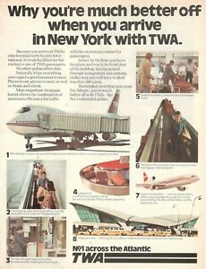 1977-Original-Advertising-039-Vintage-American-Twa-Trans-World-Airlines-New-York