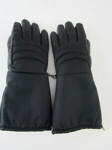 Vintage-Fairfield-Hanover-Leather-Winter-Snowmobile-Gloves-Lined-Women-039-s-Small