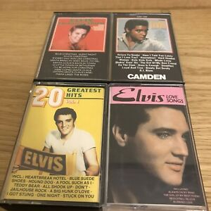 Elvis-Presley-Music-Cassette-Tapes-Bundle-Of-4
