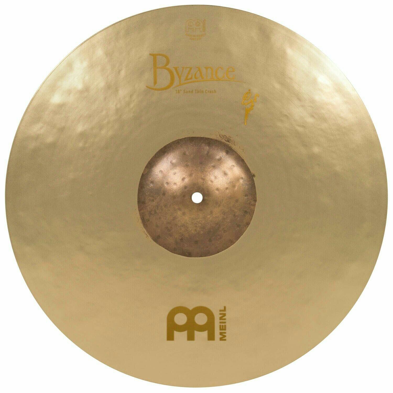 MEINL Cymbals Byzance Vintage Thin Sand Crash Benny Greb Signature 18  B18SATC