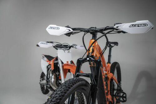 ACERBIS X-ELITE MTB Gants Blanc Vélo de montagne Downhill MTB E-Bike