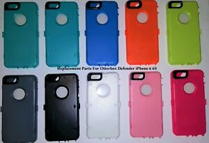 huge discount 90dfb 0c2a6 Details about iPhone 6 & 6 S Replacement for OtterBox Defender Inner  Plastic Shell+Screen