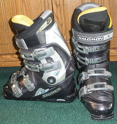 SALOMON PROLINK AXE PERFORMA 8.0 DOWNHILL SKI BOOTS WOMENS 7, MONDO 24.5 284mm | eBay
