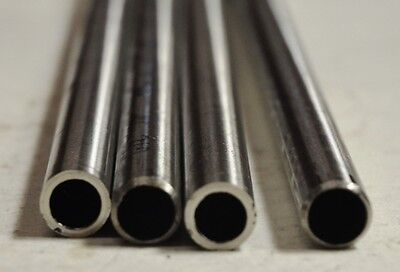 """304 Seamless Stainless Steel Tube, .440 X .040, Annealed, 4 pc bundle, 8-16"""" ea"""