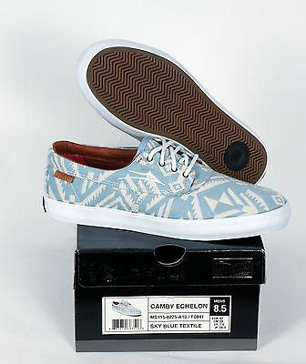 NEU Lakai Skate Schuhe Shoes Camby Echelon Sky Blue Textile Needlepoint 11,5/46