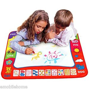 For-Children-Doodle-Drawing-Toys-1-Painting-Mat-2-Water-Drawing-Pen-Blue