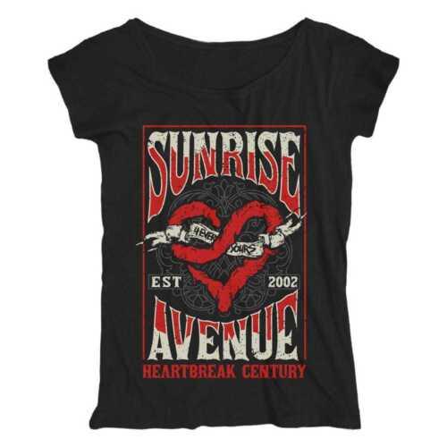 Scribble Heart Sunrise Avenue Girl-Shirt