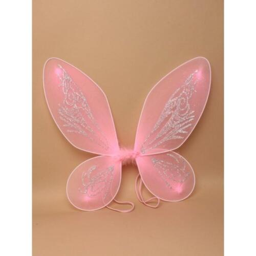 Fairy Wings Wands Fancy Dress Party Net Fantasy Up Outfit Magic Wand