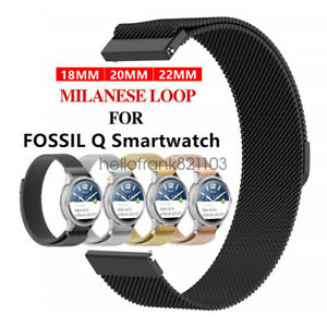 Magnetic-Stainless-Steel-Milanese-Loop-Bracelet-for-Fossil-Watch-Band-Strap