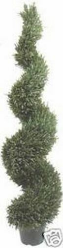 64  ARTIFICIAL TOPIARY UV OUTDOOR WIDE RosaMARY RosaMARY RosaMARY TREE PLANT FAKE SPIRAL 5ft PORCH 6b8db3
