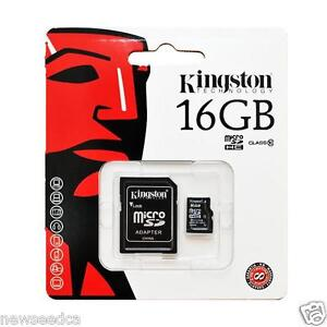 Kingston-16-16GB-16G-Micro-SD-SDHC-Class-10-UHS-I-TF-Memory-Card-for-cell-phone