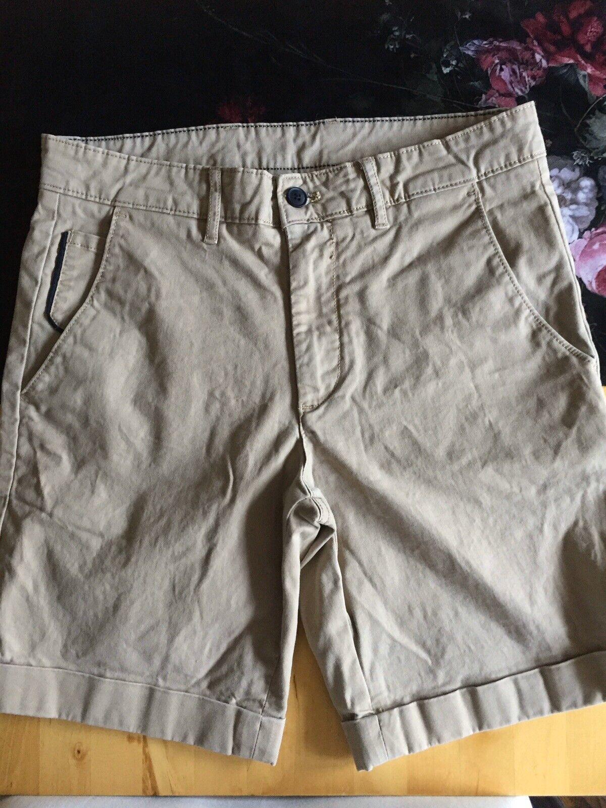Beige Herren Bermuda Shorts von Zara, Gr.38, gebraucht