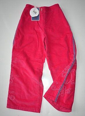 Ingegnoso Clayeux Designer Francese Ragazza Pantaloni 5 Anni In Velluto Rosa Nuovo Con Etichette Rrp £ 77-mostra Il Titolo Originale