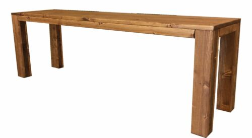 Panca Panchina in legno al naturale o 7 colori 100x38.5x50 cm ANCHE SU MISURA!