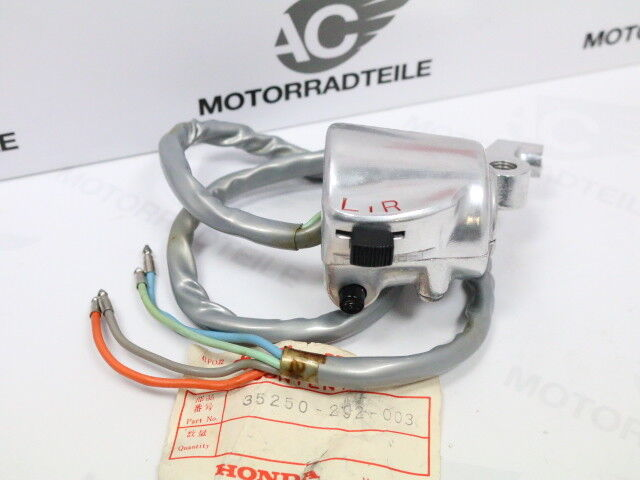 Honda CB CL 100 K Indicator Switch Instruments Silver Handlebars Left Original