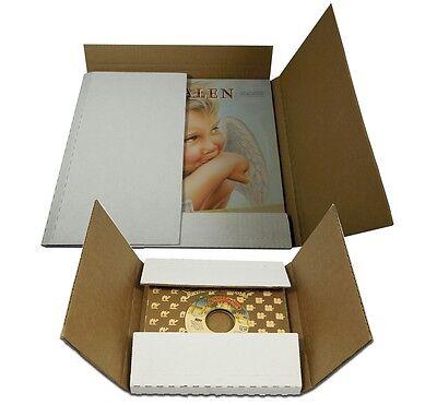 Combo! 50 Vinyl LP & 50 45 RPM Record Ship Mailer Boxes