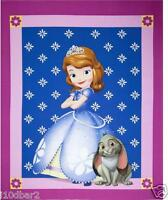Sofia Fabric Panel Disney Fabric Sofia The1st Princess Quilt Top Cp52382