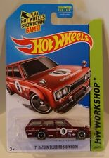 '71 Datsun Bluebird 510 Wagon 2014 SUPER Treasure Hunt REAL RIDERS Jun Imai VHTF