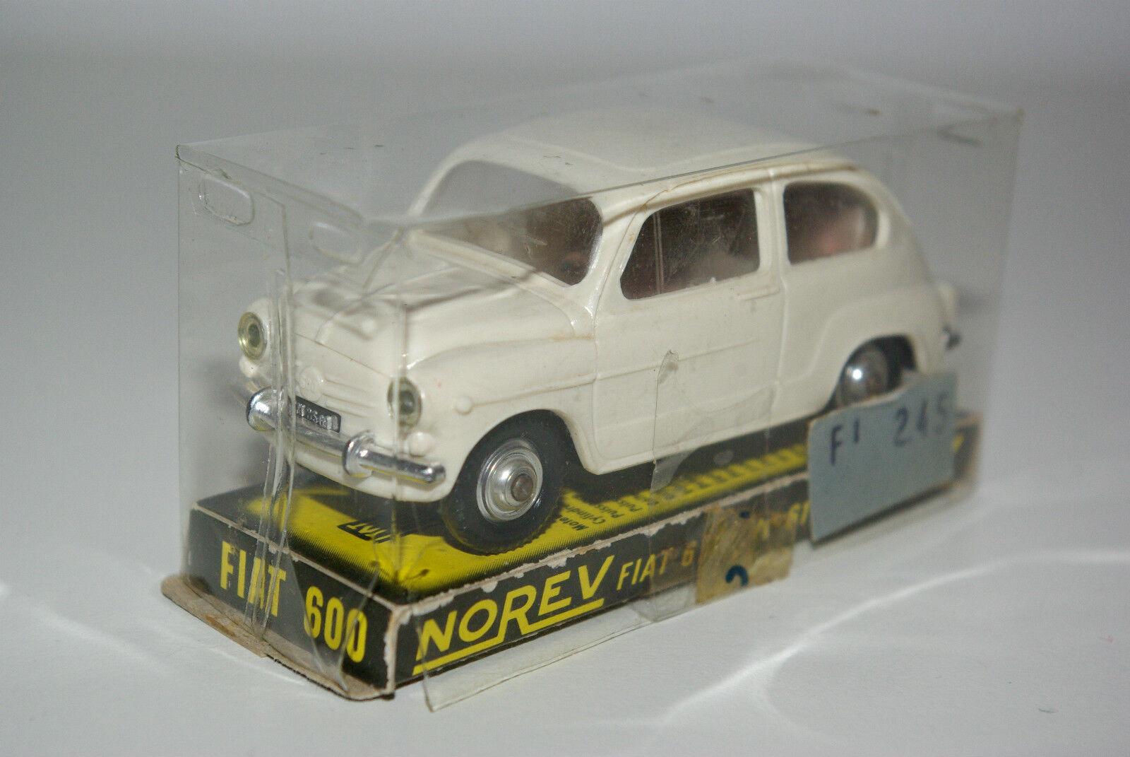 NOREV 61 FIAT 600 CREAM MINT MINT MINT BOXED RARE SELTEN RARO 8a48cc