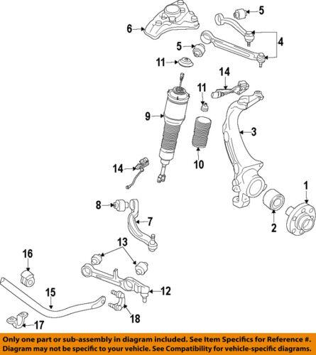 AUDI OEM 11-17 A8 Quattro Front Suspension-Rr Upper Cntl Arm 4H0407510F