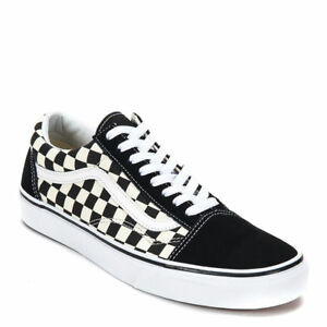2c9b4ccb95ee7 Image is loading Vans-PRIMARY-CHECK-Checkerboard-Shoes-Classic-Canvas-Suede-