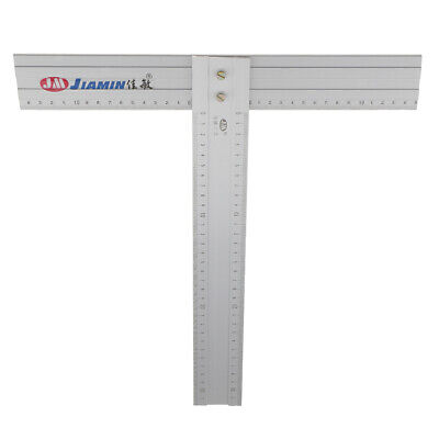 "12/"" Aluminum Alloy T Square Drawing Tool for Art Framing Advertising Draft"