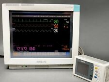 Philips Intellivue Mp70 Touch Screen Patient Monitor With Philips X2 Monitor