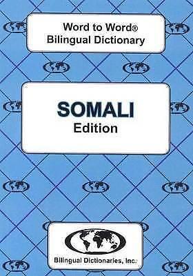 English-Somali & Somali-English Word-to-Word Dictionary by Sesma, C. (Paperback