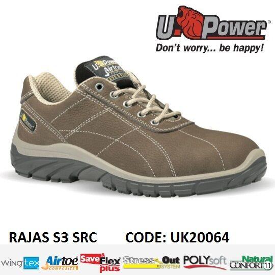 con il 100% di qualità e il 100% di servizio Upower Scarpa da lavoro antinfortunistica RAJAS S3 SRC SRC SRC U-POWER UK20064 -  produttori fornitura diretta