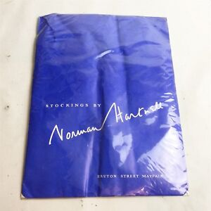 Vintage-Norman-hantnell-sans-couture-stocking-Retro-Suisse-Neuf-Scelle