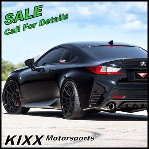 20 Ferrada Fr4 20x9 10 5 Black Concave Wheels Rims Fits Cadillac