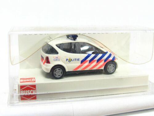 Busch 1//87 48609 MB A-Klasse Politie Niederlande OVP KV5163