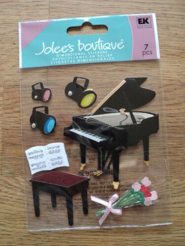 EK SUCCESS JOLEE/'S BOUTIQUE récital de piano Autocollants Entièrement neuf sous emballage