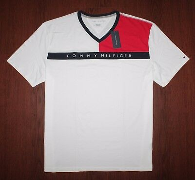 Tommy Hilfiger Men Crew Neck short sleeves T-shirt size S XXXL new with tag M